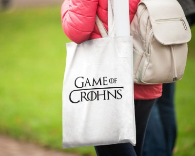 ECOBAG GAME OF CROHNS