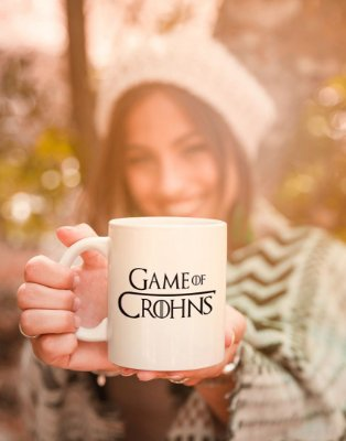 Caneca Game of Crohns