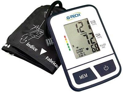 Medidor de Pressão Arterial de Braço Digital - G-Tech Automático BSP11
