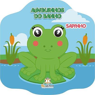 Livro Infantil Amiguinhos do Banho Sapinho