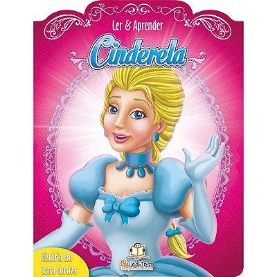 Livro Infantil Ler e Aprender Cinderela