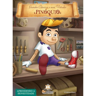 Livro de Virtudes Pinóquio Aprendendo a Honestidade