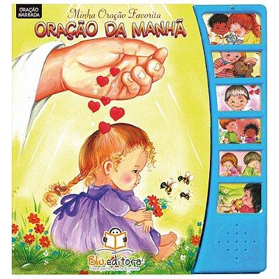 Livro Infantil Minha Oração Favorita Oração da Manhã