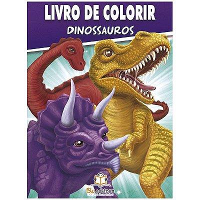 Livro de Colorir Dinossauros