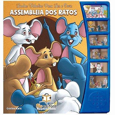 Fábulas para Ler e Ouvir Assembleia dos Ratos