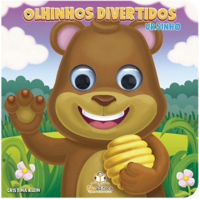 Livro Infantil Olhinhos Divertidos Ursinho