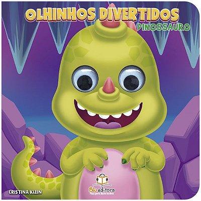 Livro Infantil Olhinhos Divertidos Dinossauro