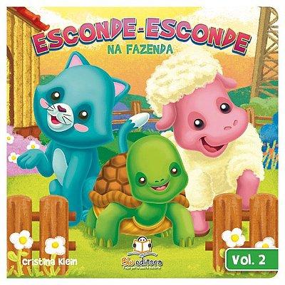 Livro Infantil Esconde-esconde na Fazenda Volume 2