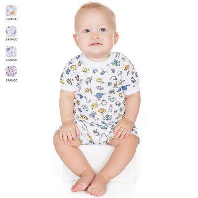 Pijama para Bebê Menino Conjunto Estampado (Verão)