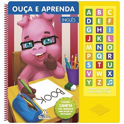 Livro Infantil Sonoro Ouça e Aprenda Inglês