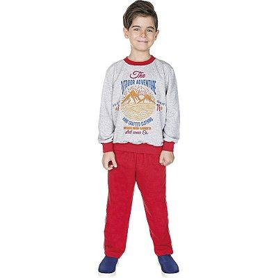 Roupa Infantil Menino Conjunto de Moletom Calça e Casaco