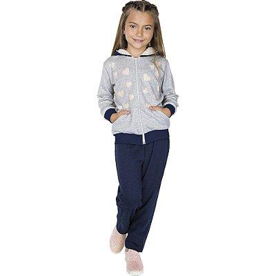 Roupa Infantil Menina Conjunto de Moletom Inverno Isensee