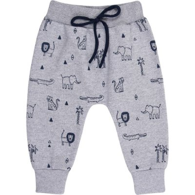 Roupa Bebê e Infantil Menino Calça Saruel Estampa e Cordão