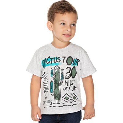 Roupa Bebê Infantil Menino Camiseta Manga Curta Isensee