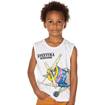 Roupa Infantil Menino Camiseta Machão Estampada Isensee