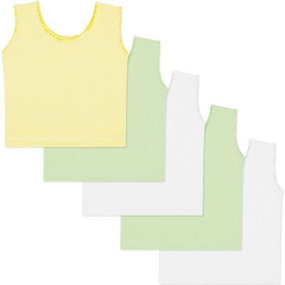 Roupa Bebê Menino Menina Unissex Camiseta Regata Kit 5 Peças