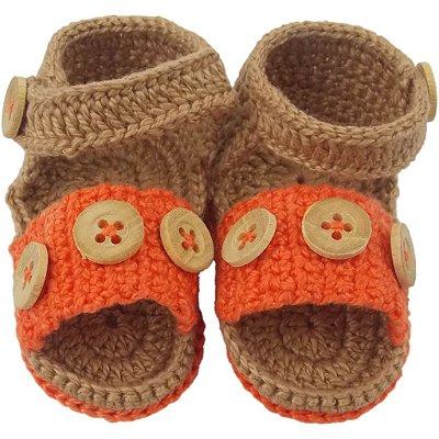 Sandália de Crochê para Menino Pequeno Príncipe