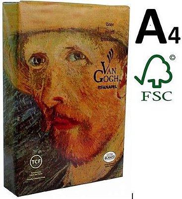 Papel Sulfite A4 75g - Extra Branco - Marca Van Gogh Pacotes de 500 Folhas - 10 pacotes