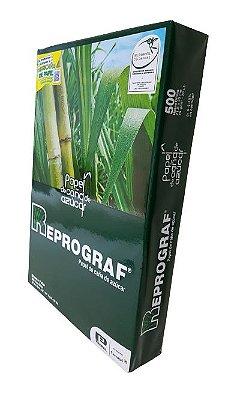 Papel Sulfite OF2 216mmx330mm cx com 10 resmas de 500 folhas, Extra Branco 75 gramas, 100% bagaço de cana de açúcar