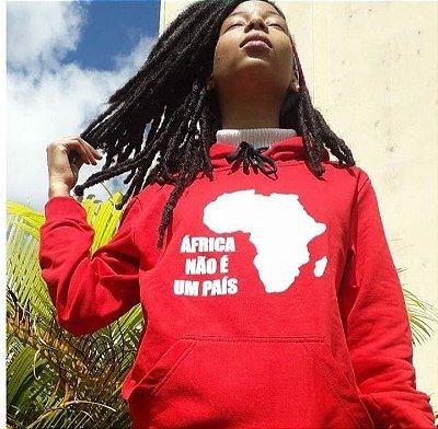 Moletom - ÁFRICA NÃO É UM PAÍS