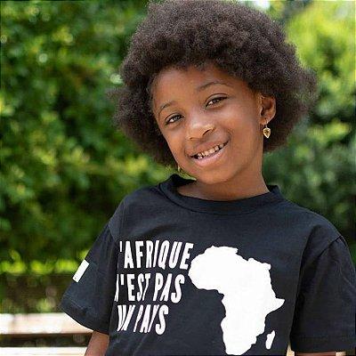 Camiseta Infantil - L'AFRIQUE N'EST PAS UN PAYS