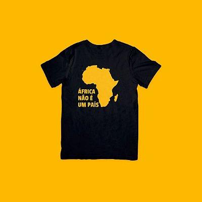 Camiseta Preta - Idiomas