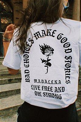 camiseta escolhas ruins