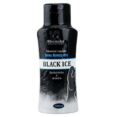 SABONETE LÍQUIDO REFRESCANTE BLACK ICE RHENUKS 200 ml