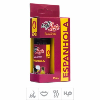 Gel Comestivel Soft Love Hot 15ml  ( ST114 ) -Espanhola-Unico
