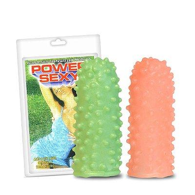 Capa Para Dedo Power Sexy Com 2un (3307PS)-Pontilhada