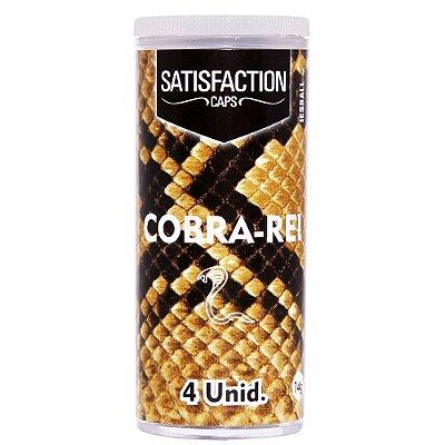 BOLINHA COBRA REI 04 UNIDADES SATISFACTION