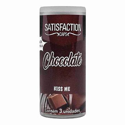 BOLINHA BEIJÁVEL SATISFACTION CHOCOLATE