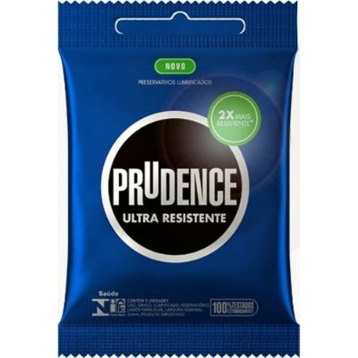 PRESERVATIVO ULTRA RESISTENTE COM 3 UNID. PRUDENCE