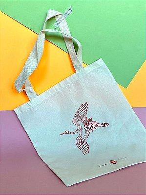Eco Bag Tsuru - Cru