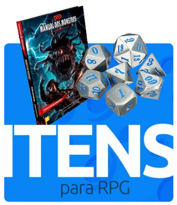 Mini Banner Itens de RPG