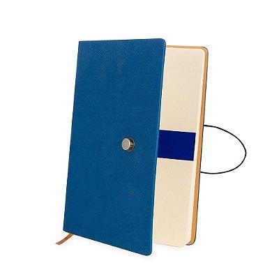 Caderneta Tipo Moleskine com Fecho - IAD18517
