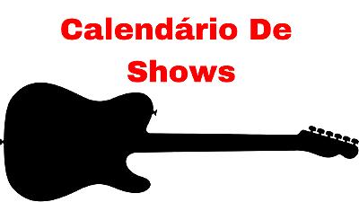 Calendário de Shows