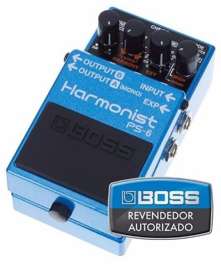 Pedal Boss Harmonist Pitch Shifter PS-6