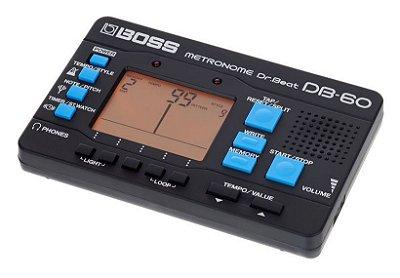 Afinador E Metrônomo Boss Db-60