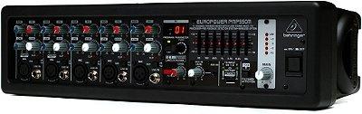 Mesa de Som Amplificada Behringer Europower PMP550M 500W 5 Canais