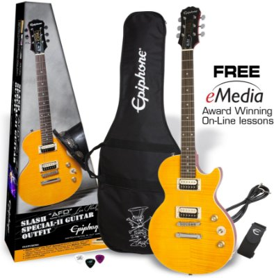 Guitarra Epiphone Les Paul Special II Signature Slash AFD