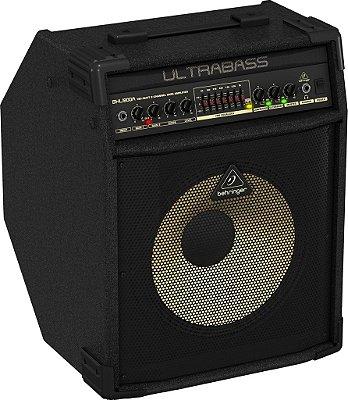 """Caixa Amplificada Behringer Ultrabass BXL1800A 180W 1x12"""" para Contrabaixo"""