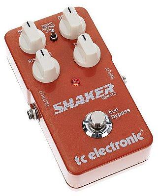 Pedal de Efeitos TC Electronic Shaker Vibrato para Guitarra