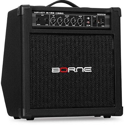 "Amplificador Borne Impact Bass CB80 1x8"" 30W"