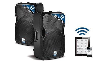 "Caixa Acústica Ativa Alto Professional Wirelles TS112W 1x12"" 800w"