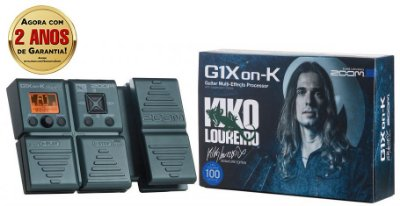 Pedaleira Zoom G1Xon-K Kiko Loureiro Signature Multi-Effects