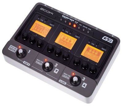Pedaleira Zoom G3 Multi-Effects para Guitarra
