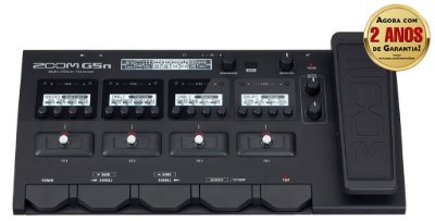 Pedaleira Zoom G5n Multi-Effects Processor para Guitarra