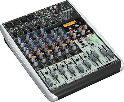 Mesa de Som Behringer Xenyx QX1204 USB 12 Canais