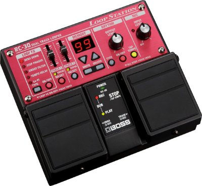 Pedal Boss Loop Station RC-30